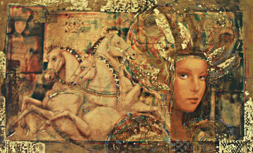 Horses of Carthage PP 1998 Limited Edition Print - Csaba Markus