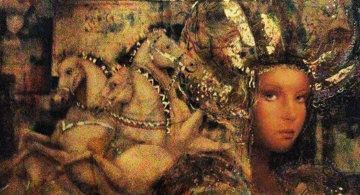 Horses of Carthage 1988 Limited Edition Print - Csaba Markus
