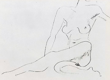 Nu Assis  First State  1929  Limited Edition Print by Henri Matisse