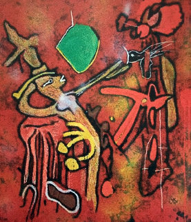 Eld of the World 2002 Limited Edition Print - Roberto Sebastian Matta