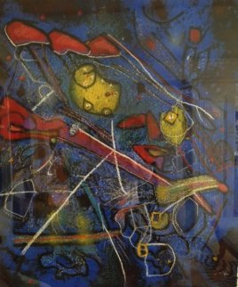 Redness of Blue 1996 Limited Edition Print - Roberto Sebastian Matta