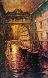 Gold of Venice Embellished 2005 Limited Edition Print - Marko Mavrovich