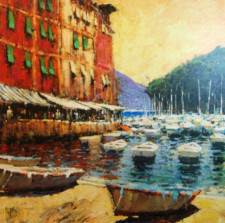 Day in Portofino 2006 Limited Edition Print - Marko Mavrovich