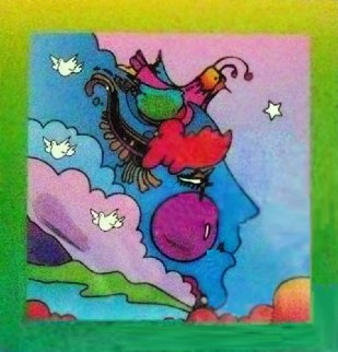 Woodstock Series: Profile on B Unique 2005 10x8 Works on Paper (not prints) - Peter Max