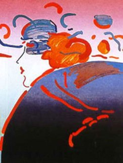 Fantasy Lady Limited Edition Print - Peter Max