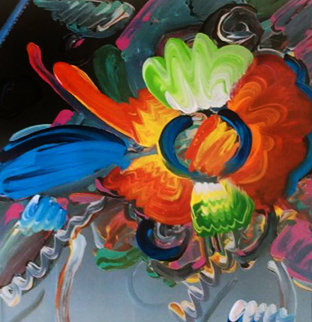 New York Flower Show Unique 1999 32x36 Works on Paper (not prints) - Peter Max