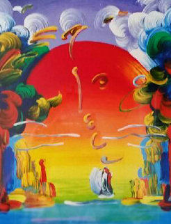 Better World 1989 Limited Edition Print - Peter Max