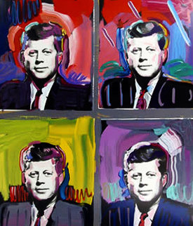 John F Kennedy 1989 Limited Edition Print by Peter Max