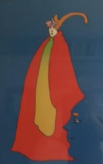 Prince of Blue Limited Edition Print - Peter Max