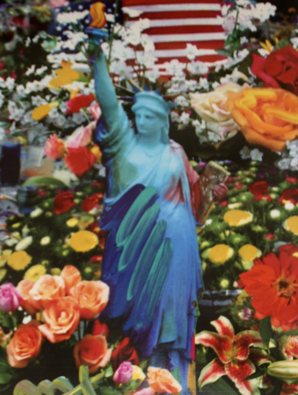 Land of the Free Home of the Brave II Unique 2005 39x33