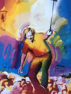 Jack Nicklaus HS by Jack 1986 Limited Edition Print - Peter Max