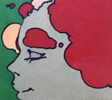 Being Content 1973 12x12 Limited Edition Print - Peter Max
