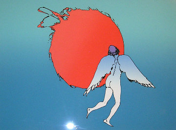 Encounter (early work 1979) Limited Edition Print - Peter Max