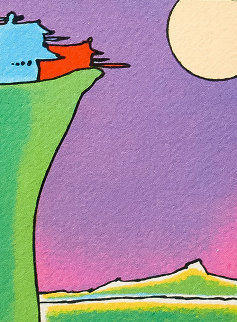Cliff Dweller 1976 Limited Edition Print - Peter Max