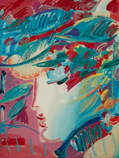 Blushing Beauty 1990 Limited Edition Print - Peter Max