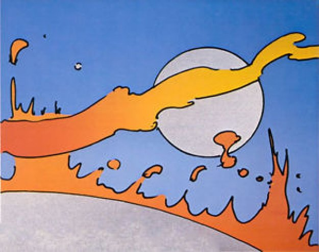 Close to the Sun 1977 Limited Edition Print by Peter Max