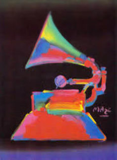 Grammy '89 1989 Limited Edition Print - Peter Max