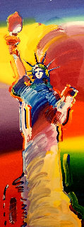 Statue of Liberty 2014 Limited Edition Print - Peter Max