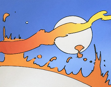 Close to the Sun 1977 Limited Edition Print - Peter Max