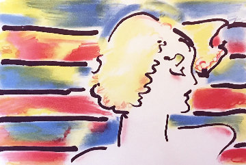 American Woman 1980 Limited Edition Print - Peter Max