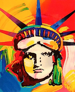 Liberty Head 2002 Ver. VIII 2013    Limited Edition Print - Peter Max