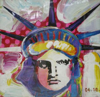 Liberty III 2000  Limited Edition Print - Peter Max