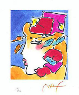 Profile Series I Limited Edition Print - Peter Max