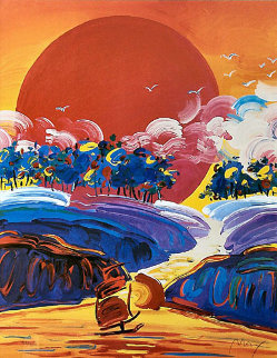 Without Borders II 2002 Limited Edition Print - Peter Max
