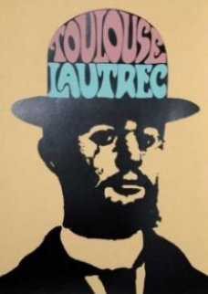 Toulouse Lautrec 1974 Limited Edition Print - Peter Max