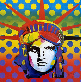 Liberty 2003 Limited Edition Print - Peter Max