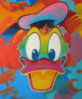 Donald Duck 1996 Limited Edition Print - Peter Max
