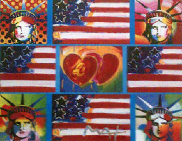 Patriotic Series: 4 Liberties, 4 Flags, and 2 Hearts 2006