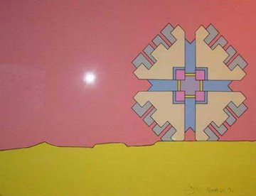 Horizon Enigma (early) 1971 Limited Edition Print - Peter Max