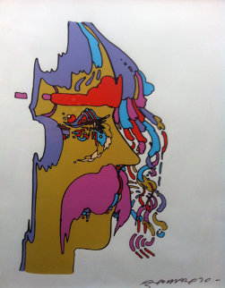 Good Loving (early) 1970 Limited Edition Print - Peter Max