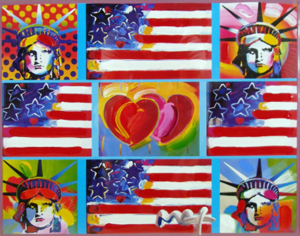 4 Liberties, 4 Flags, And 2 Hearts 2006 Unique