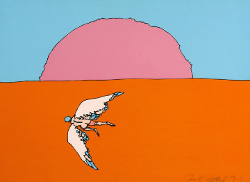 Going Home (early) 1971 Limited Edition Print - Peter Max