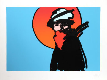 Poet Limited Edition Print - Peter Max