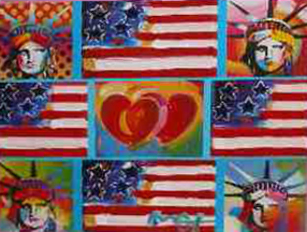 4 Flags, 2 Hearts, And 4 Liberties 2006 Unique