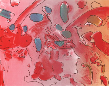 Reflections II  1979 Limited Edition Print - Peter Max