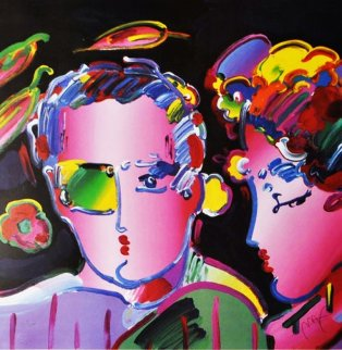 Zero in Love II 2007 Limited Edition Print - Peter Max