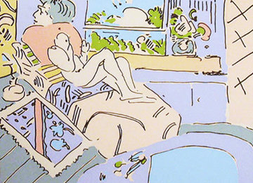Jamaica 1974 Limited Edition Print - Peter Max