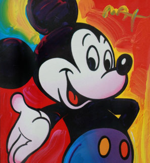 Mickey 2003 Unique 2003 37x35 Works on Paper (not prints) - Peter Max