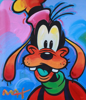 Goofy 2003 Unique 37x35 Works on Paper (not prints) - Peter Max