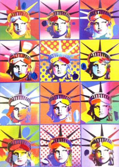 Liberty And Justice For All II  2005 40x34