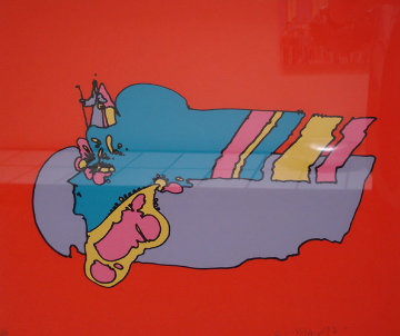 Remembering The Flight 1970 Limited Edition Print - Peter Max
