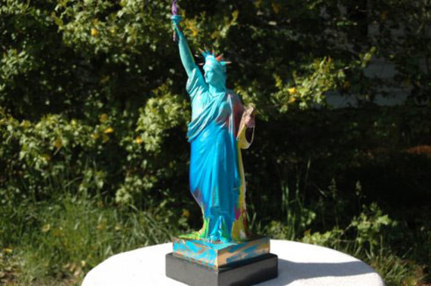 Statue of Liberty  Bronze Sculpture 1990