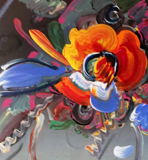 New York Flower Show 1999 36x31 Unique Works on Paper (not prints) - Peter Max