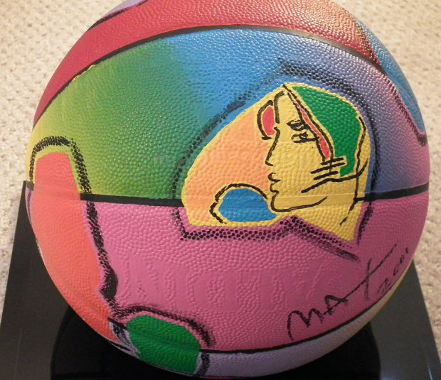 Basketball Painted Icon Series 2001