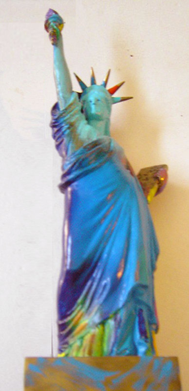 Statue of Liberty Bronze Sculpture 1990 22 in