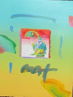 Umbrella Man 2006 Works on Paper (not prints) - Peter Max